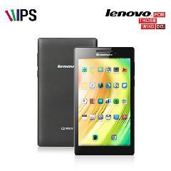 Lenovo 17.8cm Tab2 A7-10 [1.3GHz Quad Core / 1GB / 8GB / 7��ġ IPS ���÷��� (1024x600pixels) / Android 4.4 / 269g]