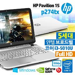 HP �ĺ����� 15-P274TX [5���� Core i3 / 4GB / 500GB / Geforce 830M 2GB / Full HD / Beat Audio / DVD��Ƽ / Windows 8.1]