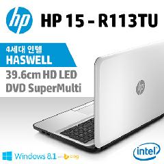 HP 39.6cm ��Ʈ�� HP-15-R113TU [Intel  Celeron Processor N2840 / 2GB / 500GB / Intel HD Graphics / Windows 8.1 / 2.23kg]